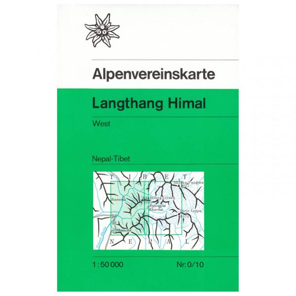 Langthang Himal (Nepal), westliches Blatt 0/10 - Hiking map