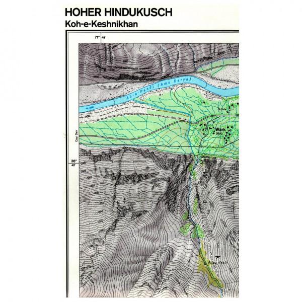 DAV - Koh-e-Keshnikhan (Hoher Hindukusch) 0/5 - Hiking map