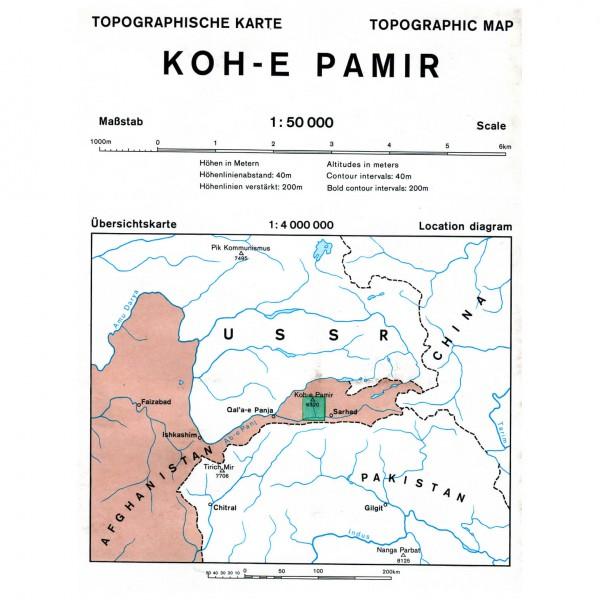 DAV - Koh-e-Keshnikhan (Afghanistan) 0/6 - Carte de randonnée