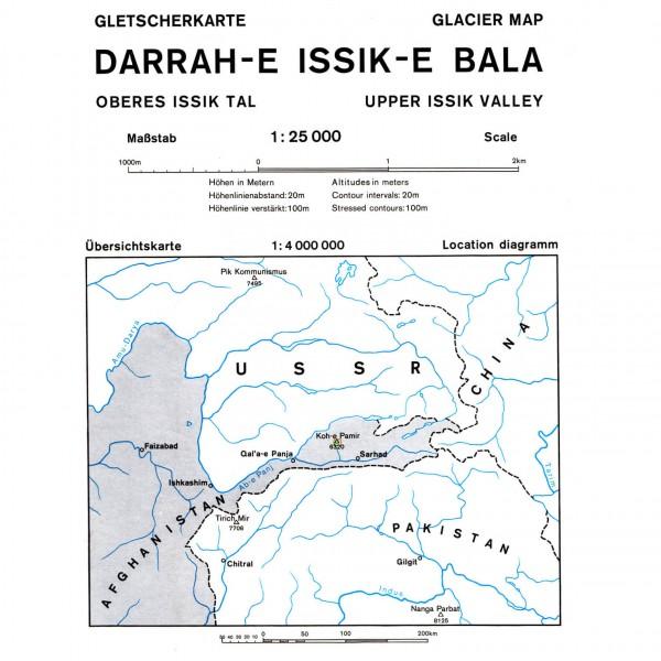 DAV - Darrah-e-Issik-e-Bala (Afghanistan) 0/6a - Hiking map