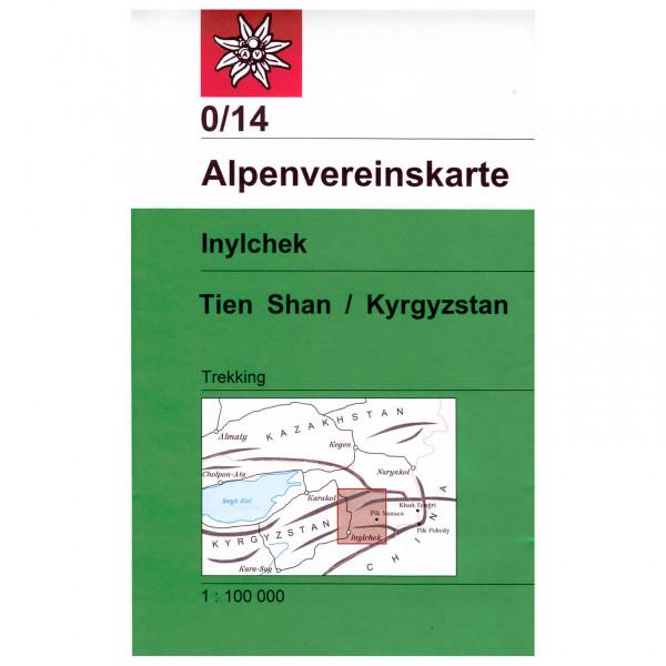DAV - Inylchek (Tien Shan / Kyrgyzstan) 0/14 - Vaelluskartat
