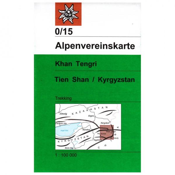 DAV - Khan Tengri (Tien Shan / Kyrgyzstan) 0/15 - Wanderkarte