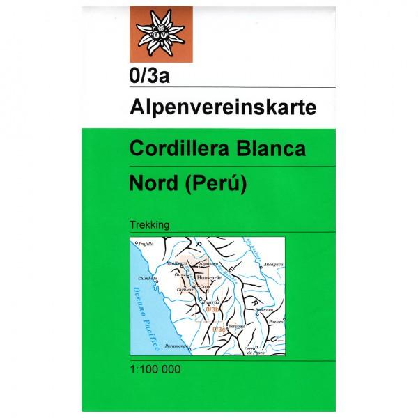 DAV - Cordillera Blanca, Nordteil 0/3a - Vaelluskartat