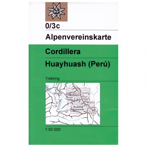 DAV - Cordillera Huayhuash 0/3c - Wandelkaart