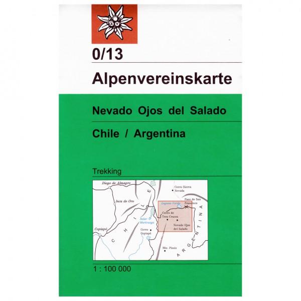 DAV - Nevado Ojos del Salado 0/13 - Hiking map