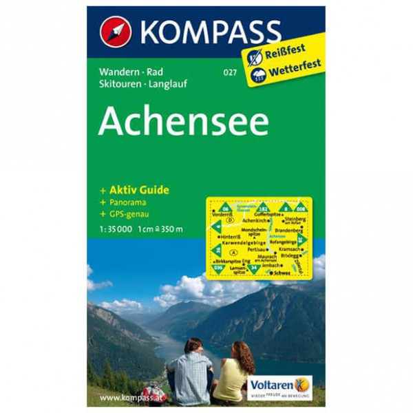 Kompass - Achensee - Hiking Maps