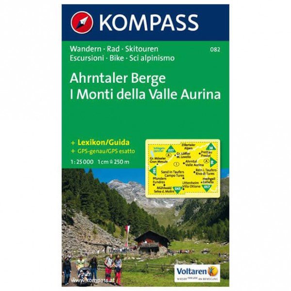 Kompass - Ahrntaler Berge /I Monti della Valle Aurina - Vaelluskartat