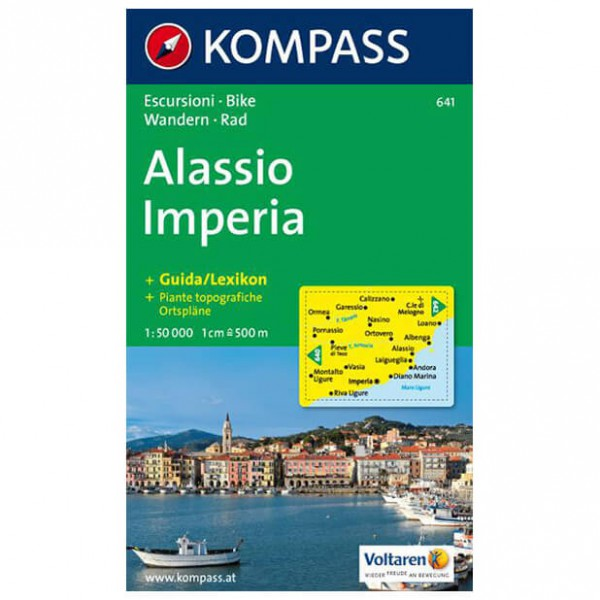 Kompass - Alassio /Imperia - Hiking Maps