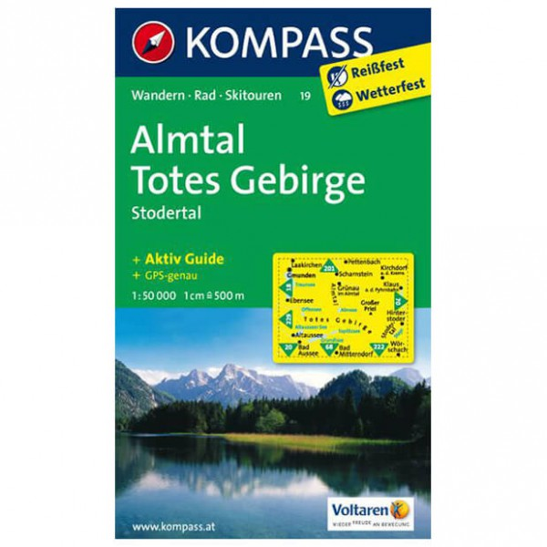 Kompass - Almtal - Wanderkarte