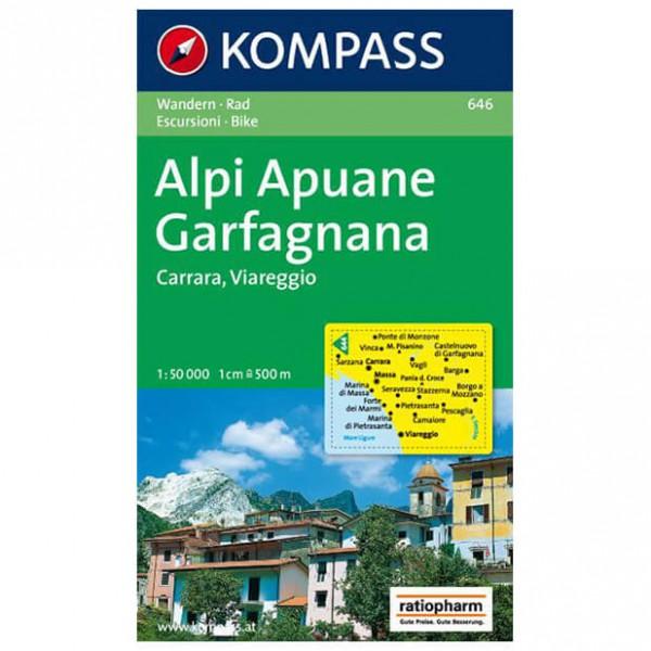 Kompass - Alpi Apuane - Garfagnana - Carrara - WK 646