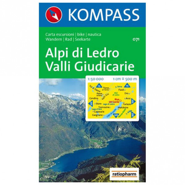 Kompass - Alpi di Ledro - Hiking Maps