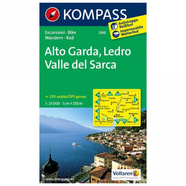 Kompass - Alto Garda - Wandelkaarten
