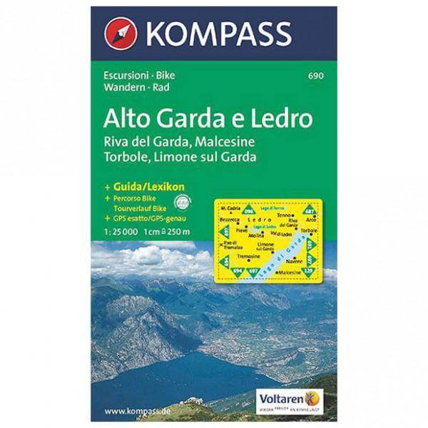 Kompass - Alto Garda e Ledro - Hiking map