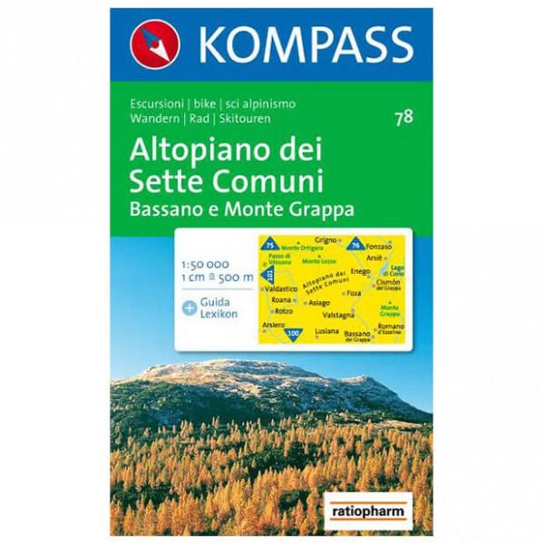 Kompass - Altopiano dei Sette Comuni - Cartes de randonnée