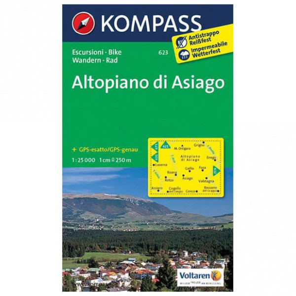 Kompass - Altopiano di Asiago - Hiking Maps