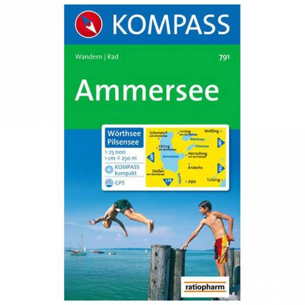 Kompass - Ammersee - Wanderkarte