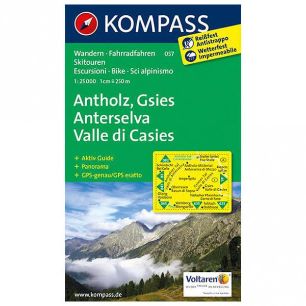 Kompass - Antholz - Wandelkaarten