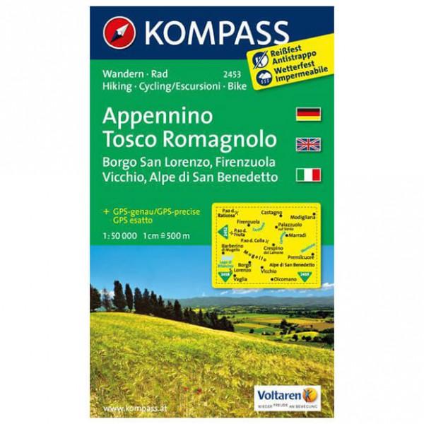 Kompass - Appennino Tosco Romagnolo - Vandrekort