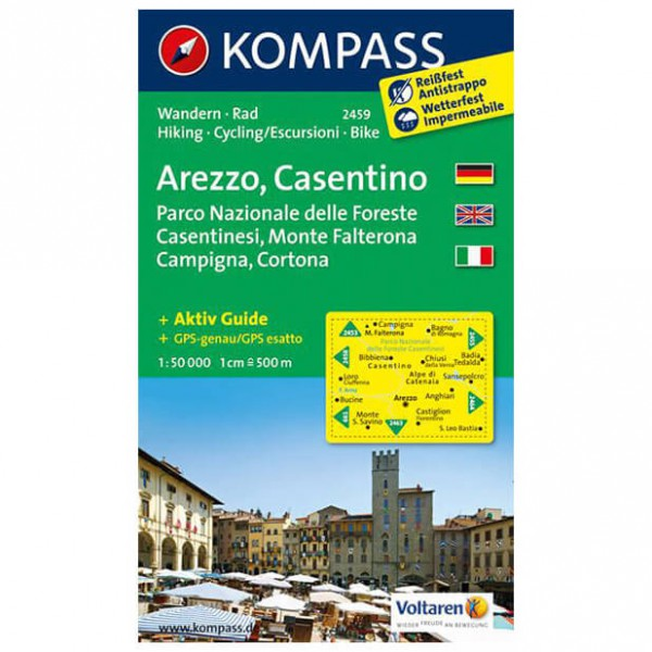 Kompass - Arezzo - Wanderkarte