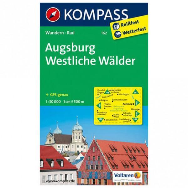 Kompass - Augsburg - Wandelkaart