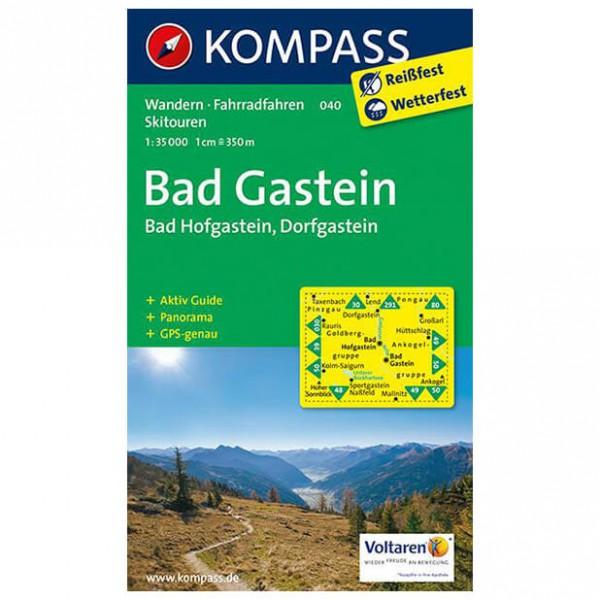 Kompass - Bad Gastein /Bad Hofgastein /Dorfgastein - Vandrekort