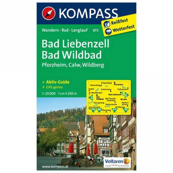 Kompass - Bad Liebenzell - Vandrekort