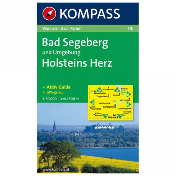 Kompass - Bad Segeberg und Umgebung - Mapa de senderos