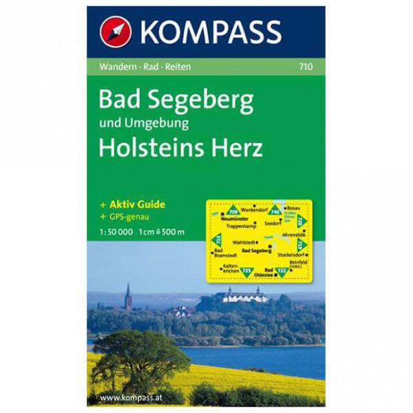 Kompass - Bad Segeberg und Umgebung - Wanderkarte