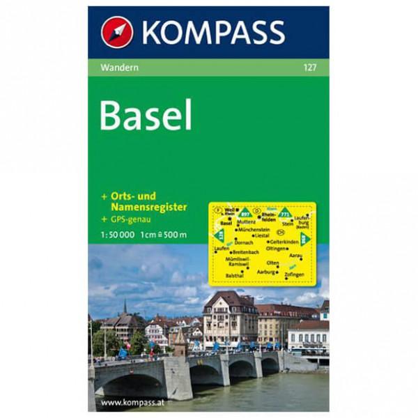 Kompass - Basel - Mapa de senderos