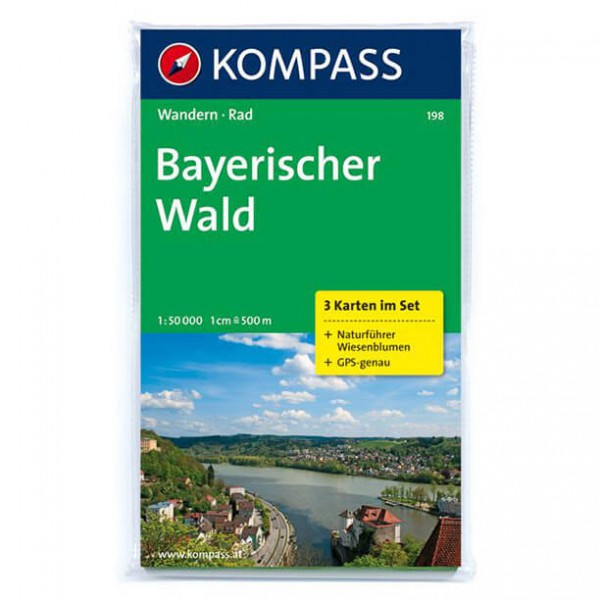Kompass - Bayerischer Wald - Vaelluskartat