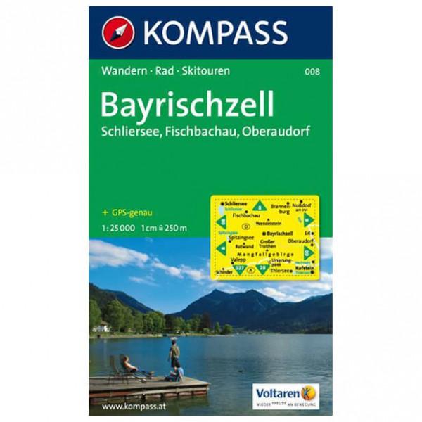 Kompass - Bayrischzell - Vandrekort