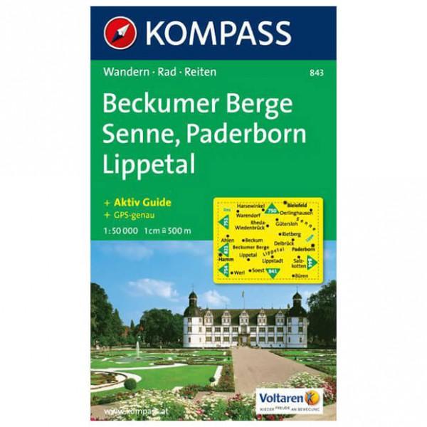 Kompass - Beckumer Berge - Wanderkarte