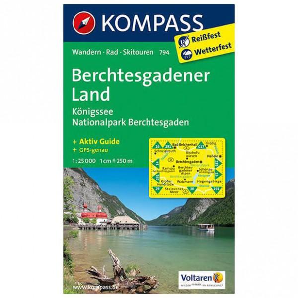 Kompass - Berchtesgadener Land - Königssee - Wandelkaarten