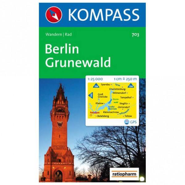 Kompass - Berlin - Wanderkarte
