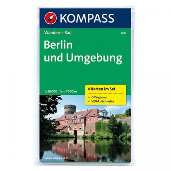Kompass - Berlin und Umgebung - Wanderkarte