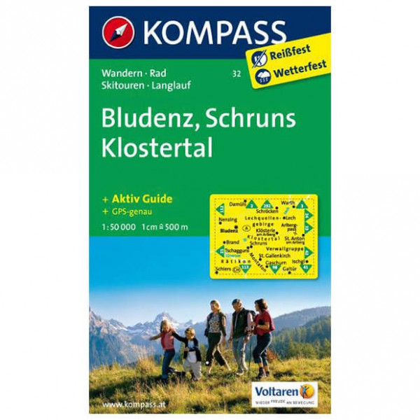 Kompass - Bludenz - Cartes de randonnée
