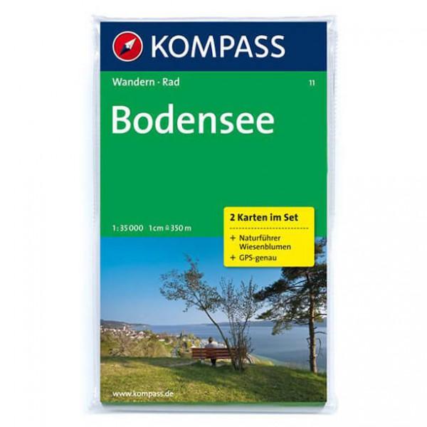 Kompass - Bodensee - Wanderkarte