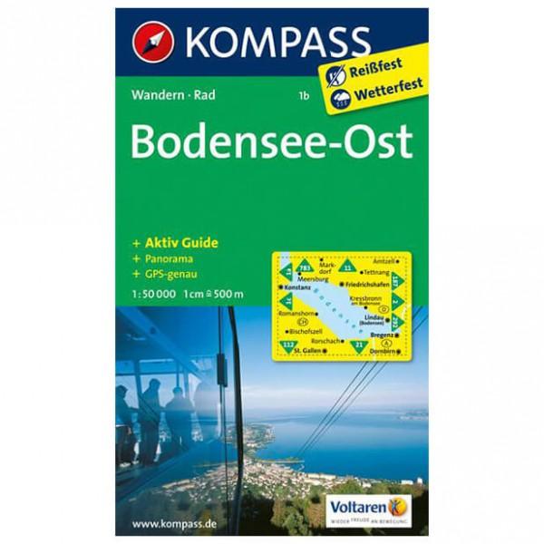 Kompass - Bodensee Ost - Wandelkaart