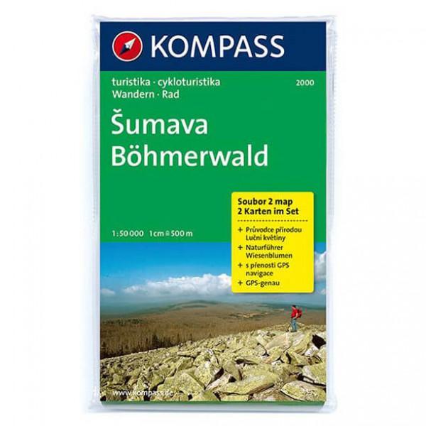 Kompass - Böhmerwald /Sumava - Wanderkarte