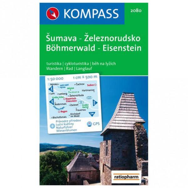 Kompass - Böhmerwald-Eisenstein /Sumava-Zeleznorudsko - Vandringskartor