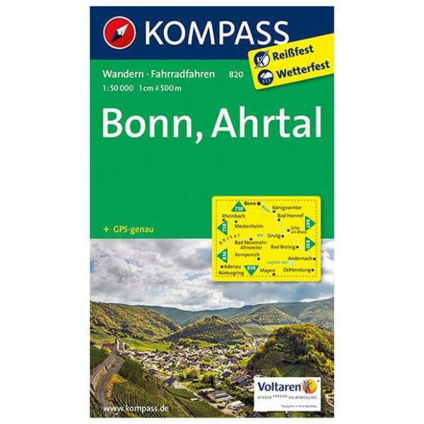 Kompass - Bonn - Hiking Maps