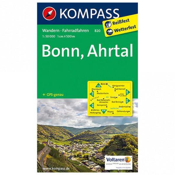 Kompass - Bonn - Wanderkarte