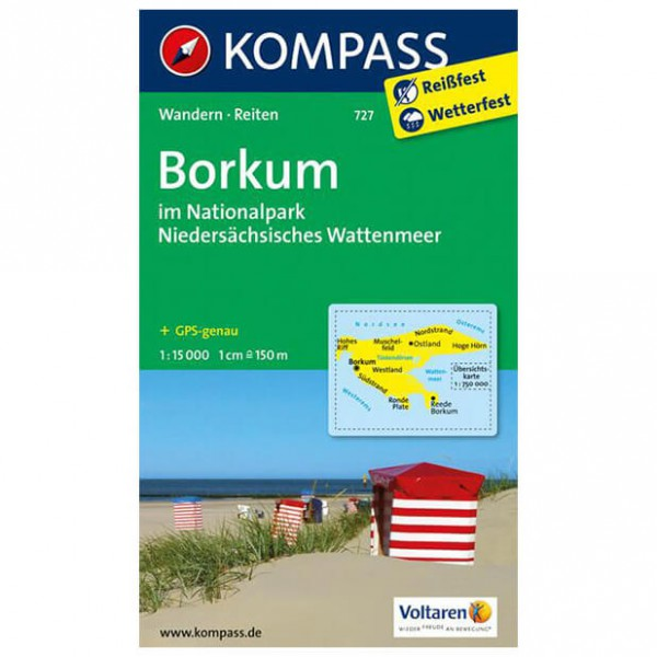 Kompass - Borkum - Turkart