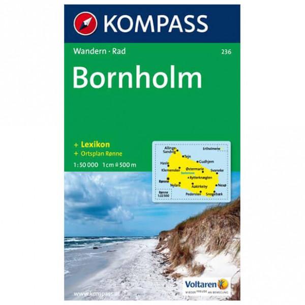 Kompass - Bornholm - Vaelluskartat