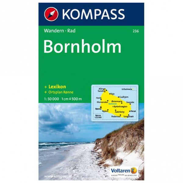 Kompass - Bornholm - Wandelkaart