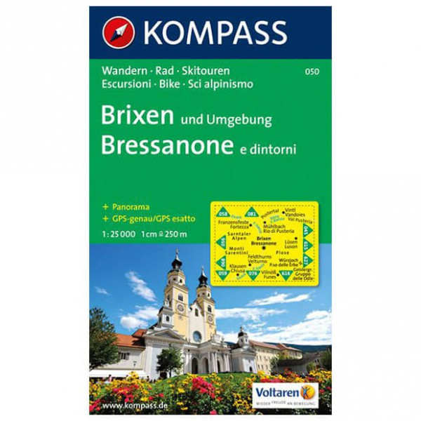 Kompass - Brixen und Umgebung - Hiking Maps