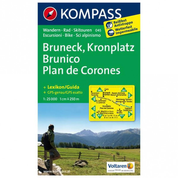 Kompass - Bruneck - Hiking Maps