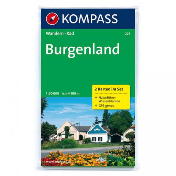 Kompass - Burgenland - Hiking map