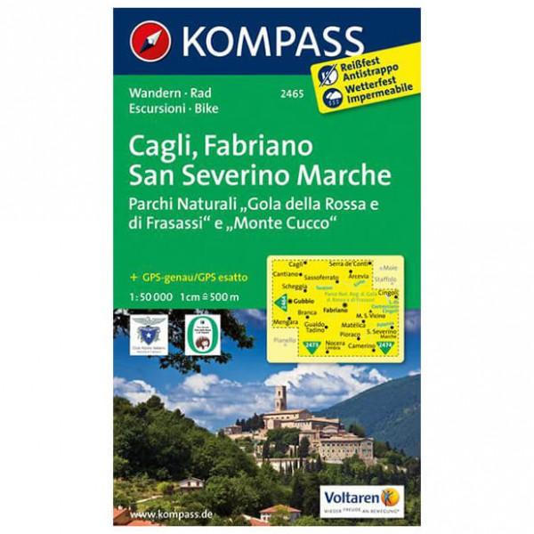 Kompass - Cagli - Cartes de randonnée