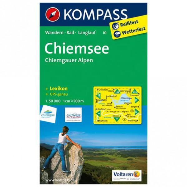 Kompass - Chiemsee - Chiemgauer Alpen